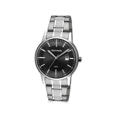 Relógio Masculino Analógico Technos 2115RO 1P - Prata 3b2fd4f4b1