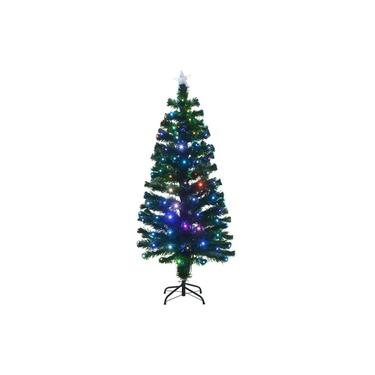 Árvore de Natal com Fibra Ótica 1,50m 110v - Mabruk