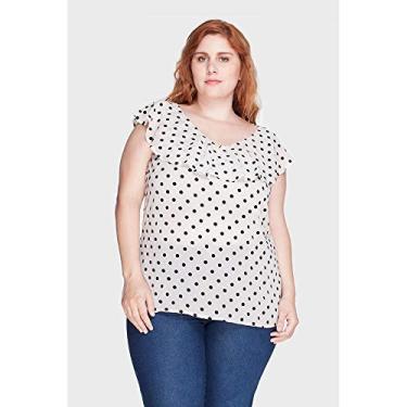 Blusa Encanto Plus Size Cru-48