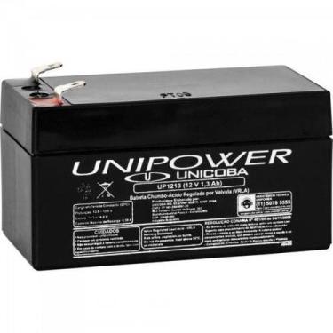 Bateria Selada 12V/1,3A UP1213 UNIPOWER - Loja Zaaz