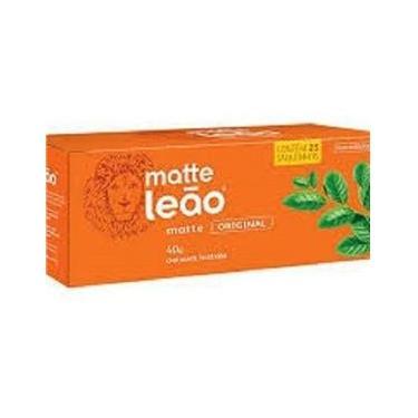 Chá Mate Leão Com 25 Saquinhos- Kit Com 2 Caixas