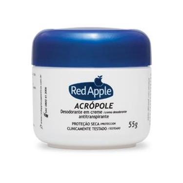 Desodorante Red Apple acrópole creme, 55g