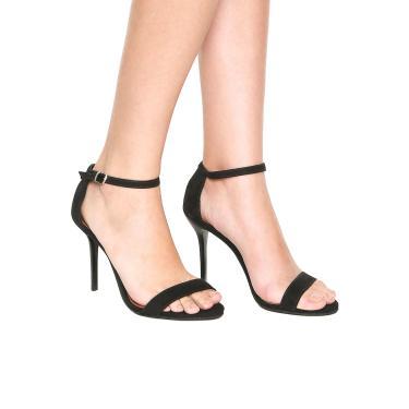 8ed0a187eb Sandália DAFITI SHOES Salto Fino Preta Dafiti Shoes 288-2540 feminino