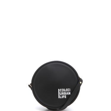 Bolsa Colcci Logo Preta  feminino