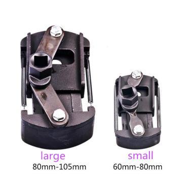 60-80-105mm carro tipo tampa chave grade Óleo filtro ajustável desmontar ferramenta de filtro de