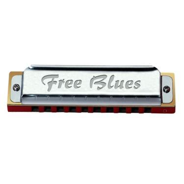 fb3731c8f Gaita Diatônica em Bb 20 Vozes Free Blues Hering