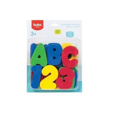 Imagem de Brinquedo de Banho Letras e Números - Buba