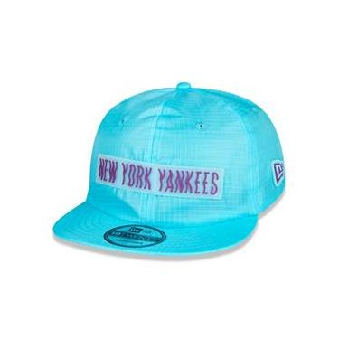 Bone 9Forty New York Yankees Mlb Aba Curva Snapback Vermelho New Era