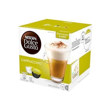 Cápsula Dolce Gusto Nescafé com 10 Unidades de 12.5g Cappuccino