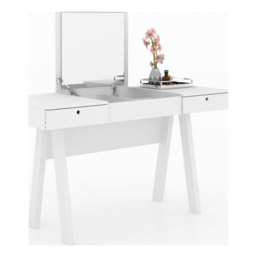 Penteadeira Escrivaninha PE2002 - Tecnomobili - Branco