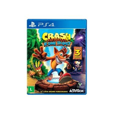 Crash Bandicoot N'sane Trilogy - PS4 (Pacote com 3 Jogos)