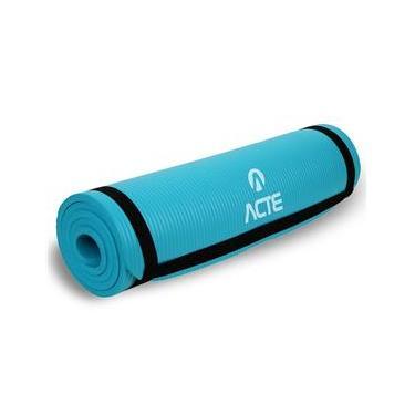 Tapete Para Exercícios Confort 180cm Verde T54 Acte Sports