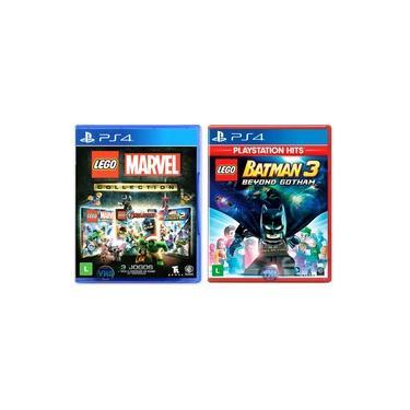 LEGO Marvel Collection + LEGO Batman 3 Beyond Gotham - PS4