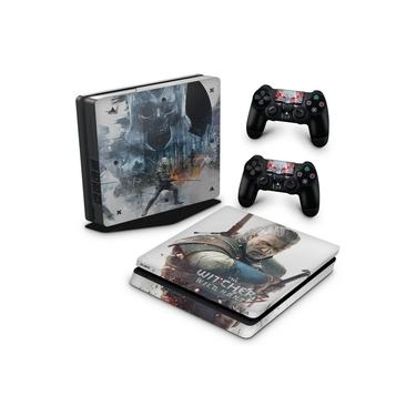 Skin Adesivo para PS4 Slim - The Witcher #B