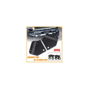 Pára-choques LED Kit de suportes de montagem em barra de luz de nevoeiro para 10-14 Ford F150 svt Raptor Truck