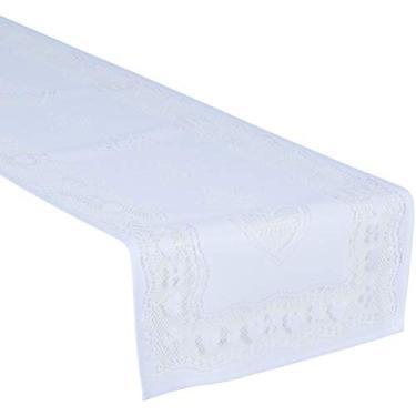 Imagem de Trilho de Crochê Lepper Lace Branco 35 cmx1.70 m Poliéster