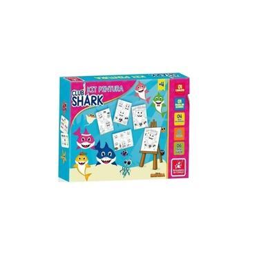 Imagem de Kit Pintura Club Shark - Brincadeira de Criança
