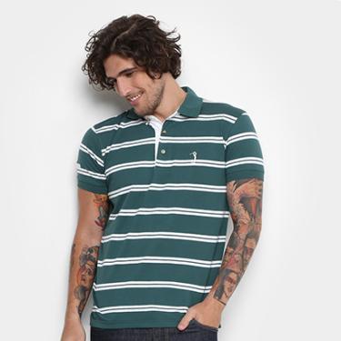 Camisa Polo Aleatory Malha Fio Tinto Masculina - Masculino 261e036a158c9