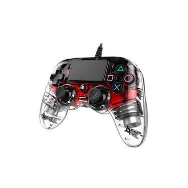 Controle pro nacon wired illuminated PS4 - vermelho (360868)