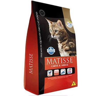 Ração Farmina Matisse Para Gatos Adultos Sabor Carne E Arroz 2Kg Farmina