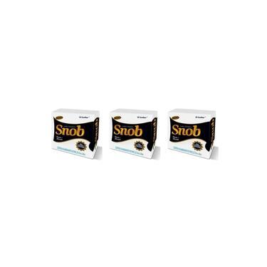 Santher Snob Guardanapo 24x22 C/50 (Kit C/03)