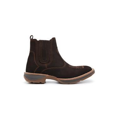 Imagem de Botina Gasparini Chelsea Boots Areia
