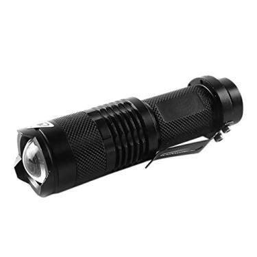Nishore Lanterna High Lumens Outdoor Mini Led Electric Tocha Portátil À Prova D 'Água Foco Ajustável Liga De Alumínio Flash Light