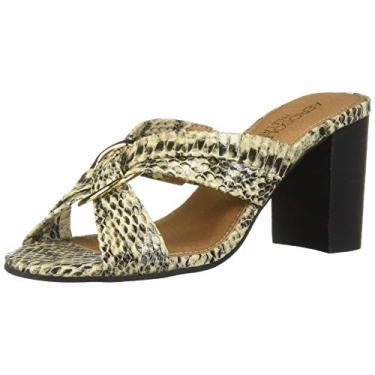 Sandália de salto alto feminina Aerosoles, Bone Snake, 6.5