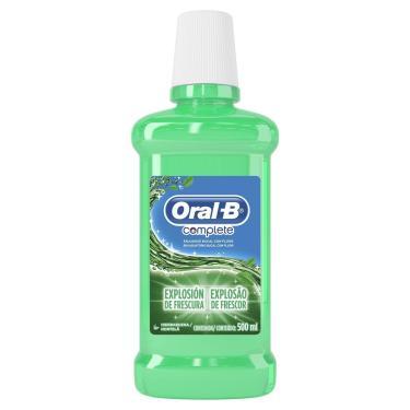 Antisséptico Bucal Oral-B Complete Hortelã 500ml