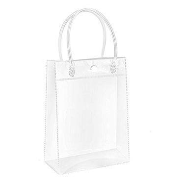 Bolsa feminina transparente kangle, bolsa de compras, bolsa de viagem, bolsa de praia, para trabalho, estádio, bolsa de plástico PVC