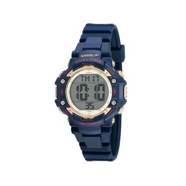 eb7713bc8b5 Relógio Feminino Digital Speedo 80631L0EVNP2 - Azul