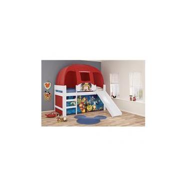 e99cac7f7d Cama Infantil 88x188cm Pura Magia Play - Mickey Disney