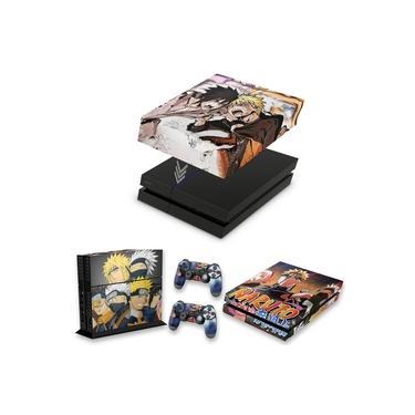 Capa Anti Poeira e Skin para PS4 Fat - Naruto
