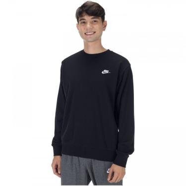 Blusão de Moletom Nike Sportswear Club Crew FT - Masculino Nike Masculino