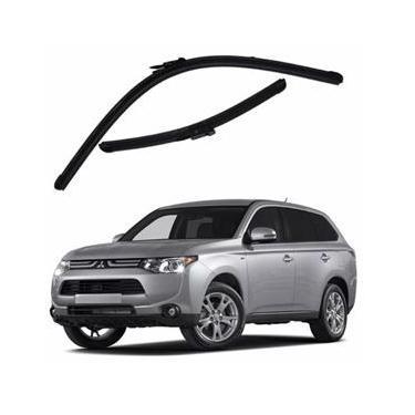 Kit Palhetas Limpador de Parabrisa Dianteiro Mitsubishi Motors Outlander Ano 2014 - Atual