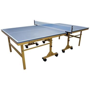 Mesa de Ping Pong   Tênis de Mesa Procópio c  Rodizio 25mm MDP Champion - 5dba52222c9ef
