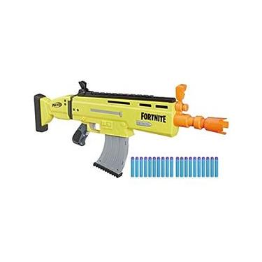 Lanca Dardos Nerf Fortnite Ar-l Amarelo Hasbro