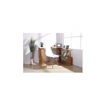 Cadeira Charles Eames Eiffel Dkr Wood - Design - Branca - Magazine decor