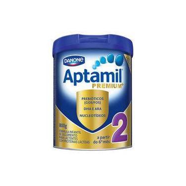 Leite em Pó Aptamil 2 Premium Prebiótico Lata 800 g