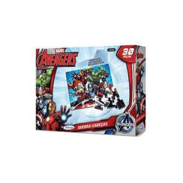 Imagem de Quebra-Cabeça 30 Peças Avengers Xalingo