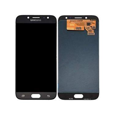 Tela Display Lcd Touch Screen Samsung Galaxy J7 Pro Modelo : J730 Cor: Preto Regulagem De Brilho