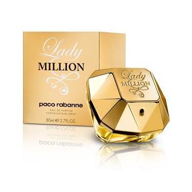 2e8c8d6c58d Perfume Feminino Paco Rabanne Lady Million EDP 80ml