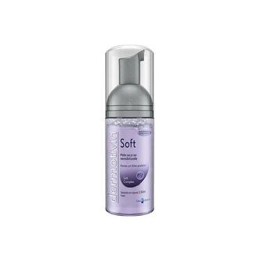 Dermotivin Soft Sabonete Em Espuma Facial Pele Seca Ou Sensível 130ml