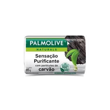 Sabonete Barra Palmolive Naturals Sensação Purificante Carvão 85g