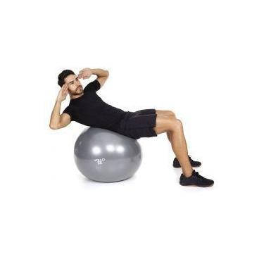 Bola De Ginástica - Gym Ball Tam. 55 cm Com Bomba - Vollo