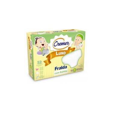 Fralda Luxo com Bainha - Cremer -