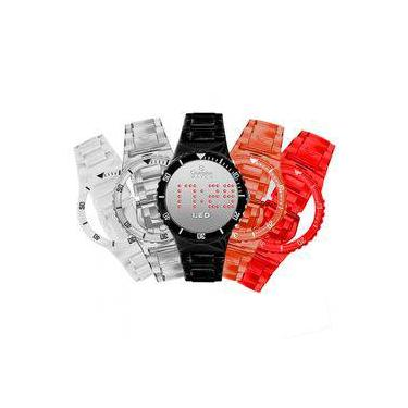 47ba09c2322 Relógio Champion Multipulseiras Led - Kit 6 - Cp40162x