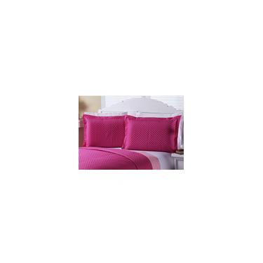 Imagem de Porta Travesseiro 2 peças Enxovais Aquarela Pink