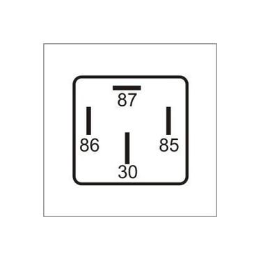 Imagem de 5 Relés Auxiliares Universais 12V - 40A - DNI 8101