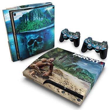 Skin Adesivo para PS3 Slim - Far Cry 3